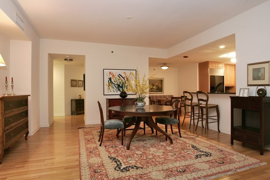 Real Estate Photography - 21 E Huron, Unit 3503, Chicago, IL, 60611 - Dining Room