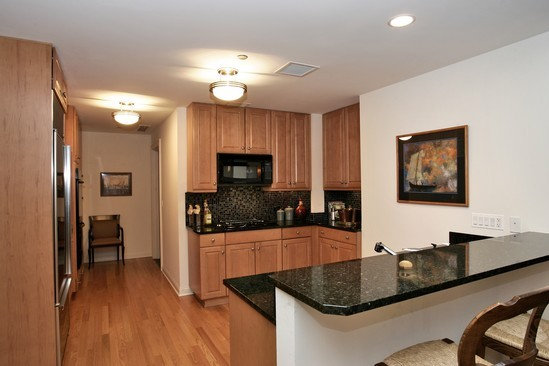 Real Estate Photography - 21 E Huron, Unit 3503, Chicago, IL, 60611 - Kitchen