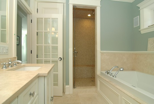 Real Estate Photography - 1833 W Melrose, Chicago, IL, 60657 - Master Bathroom
