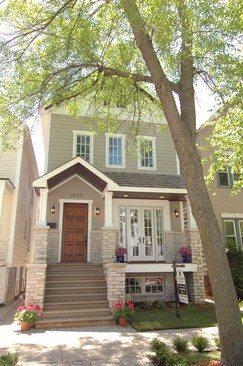 Real Estate Photography - 1833 W Melrose, Chicago, IL, 60657 - Front View