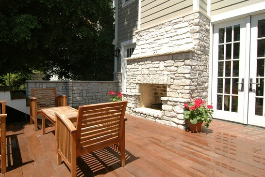 Real Estate Photography - 1833 W Melrose, Chicago, IL, 60657 - Patio