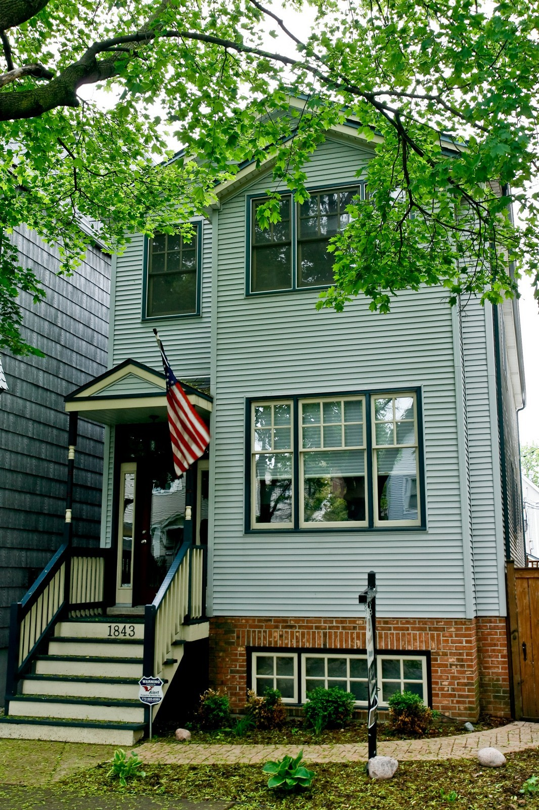 Real Estate Photography - 1843 W School St, Chicago, IL, 60657 - Front View