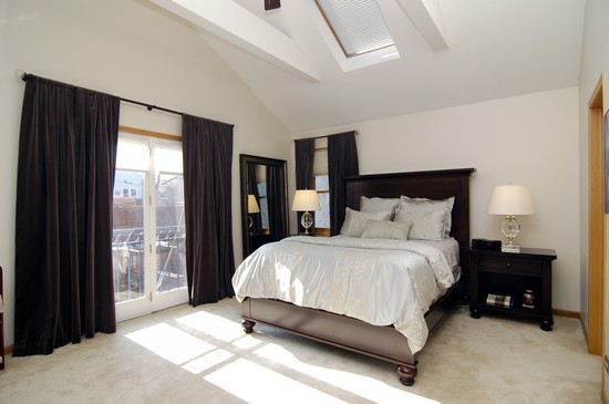Real Estate Photography - 1843 W School St, Chicago, IL, 60657 - Master Bedroom