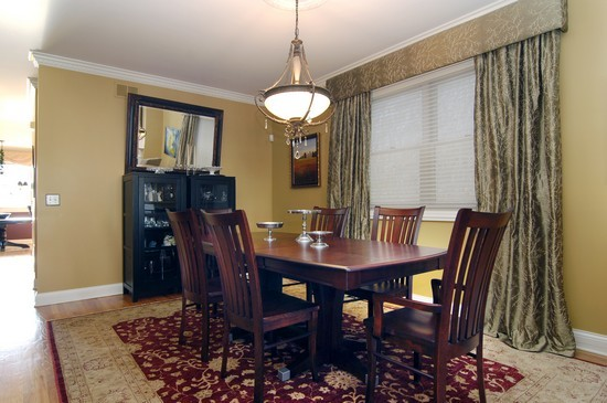 Real Estate Photography - 1843 W School St, Chicago, IL, 60657 - Dining Room