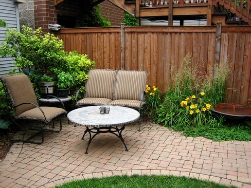 Real Estate Photography - 1843 W School St, Chicago, IL, 60657 - Patio