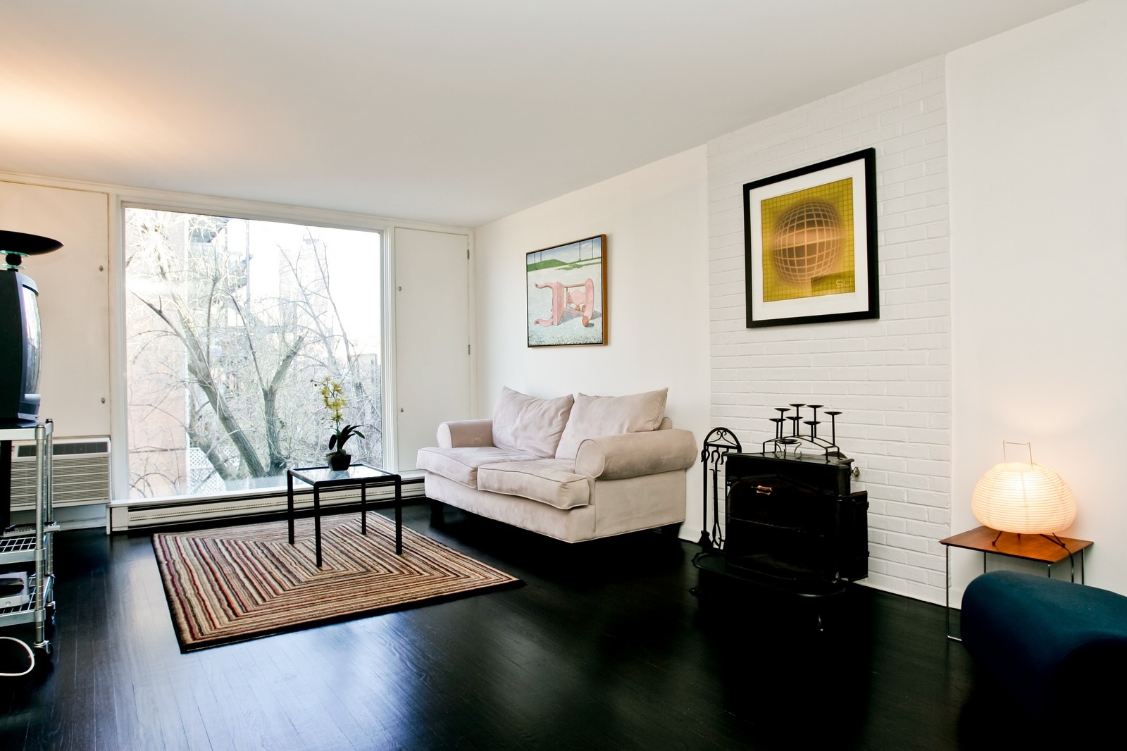 Real Estate Photography - 235 W Eugenie, Unit T4, Chicago, IL, 60614 - Living Room