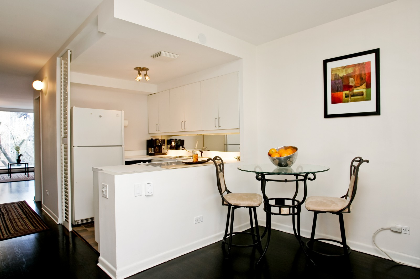 Real Estate Photography - 235 W Eugenie, Unit T4, Chicago, IL, 60614 - Kitchen / Breakfast Room