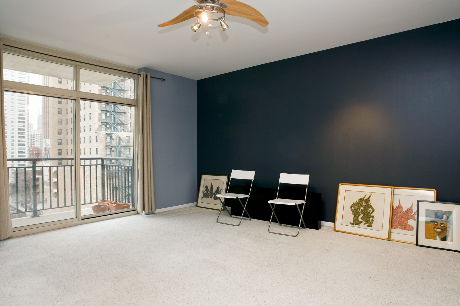 Real Estate Photography - 21 W Chestnut, Unit 806, Chicago, IL, 60611 - Bedroom