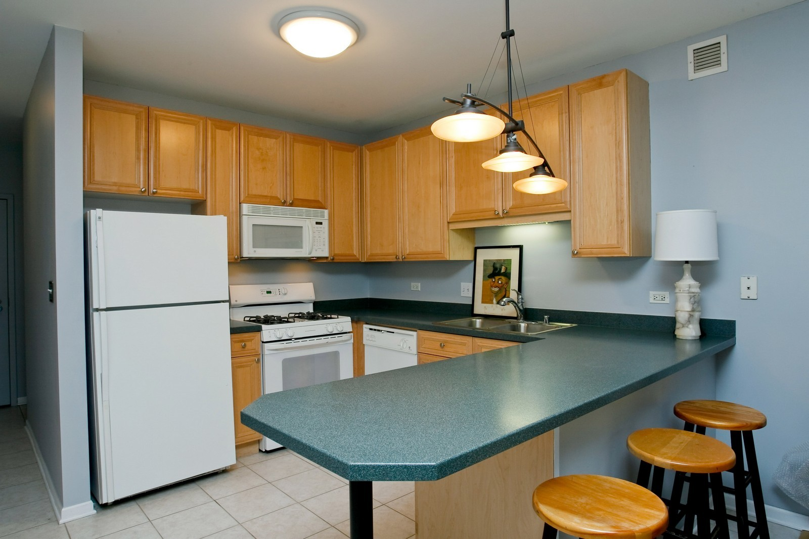 Real Estate Photography - 21 W Chestnut, Unit 806, Chicago, IL, 60611 - Kitchen