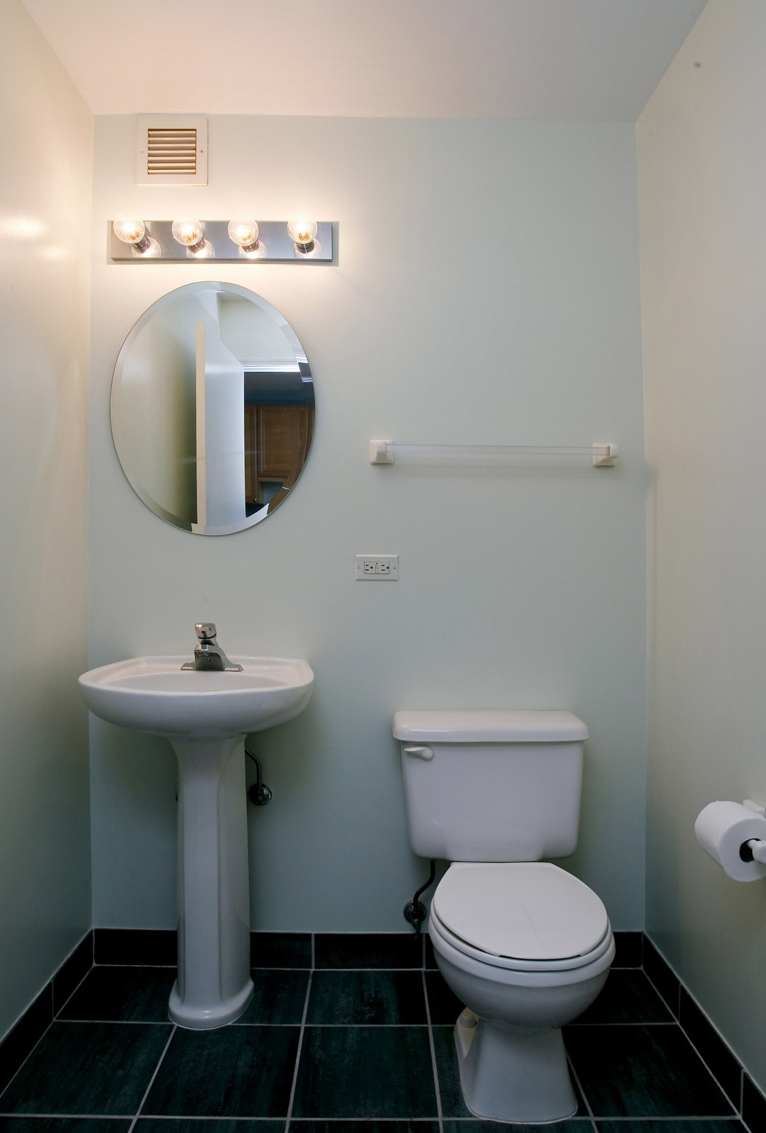 Real Estate Photography - 21 W Chestnut, Unit 806, Chicago, IL, 60611 - Half Bath