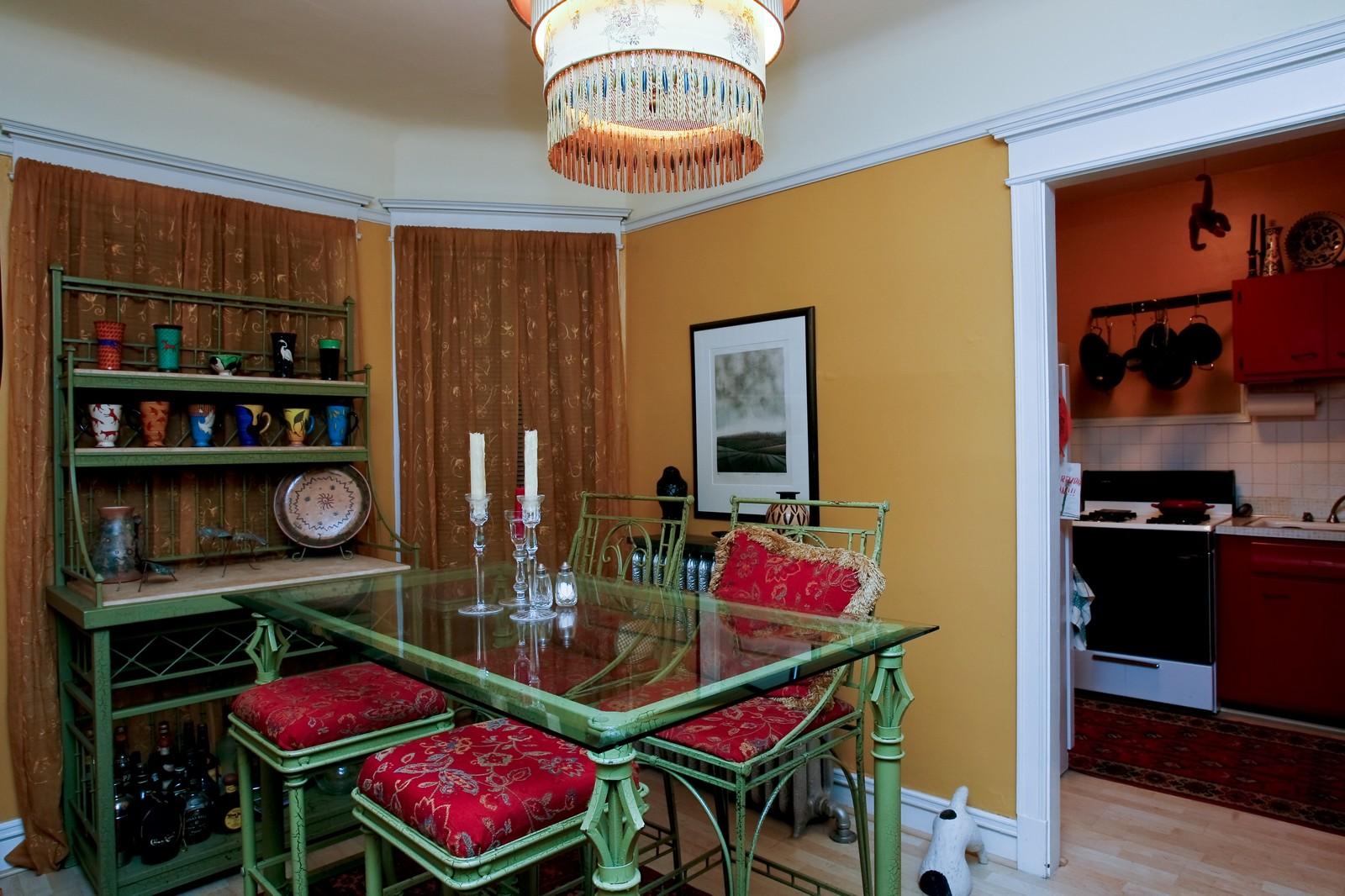 Real Estate Photography - 841 W George, Chicago, IL, 60657 - Dining Room