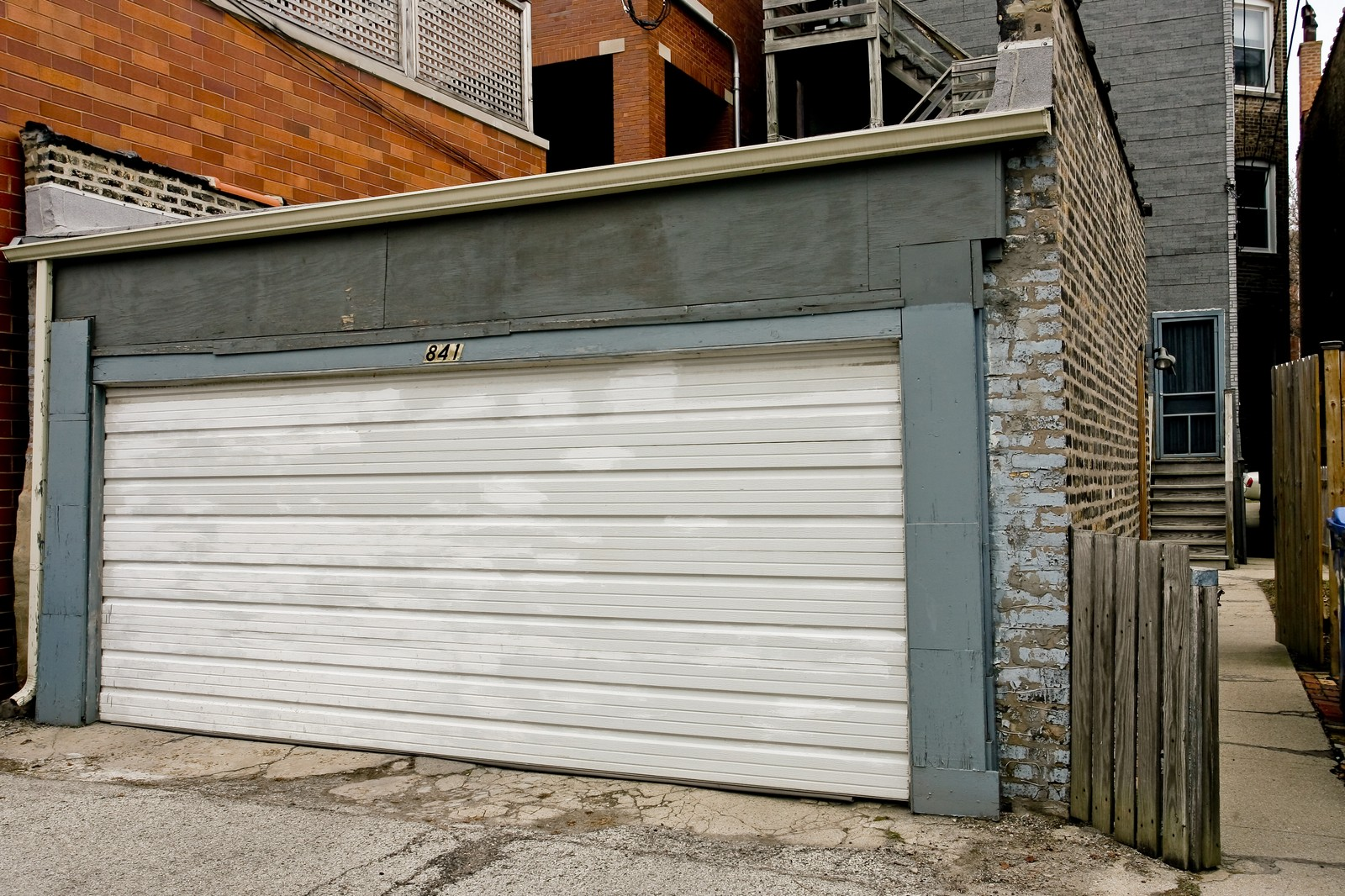 Real Estate Photography - 841 W George, Chicago, IL, 60657 - Garage