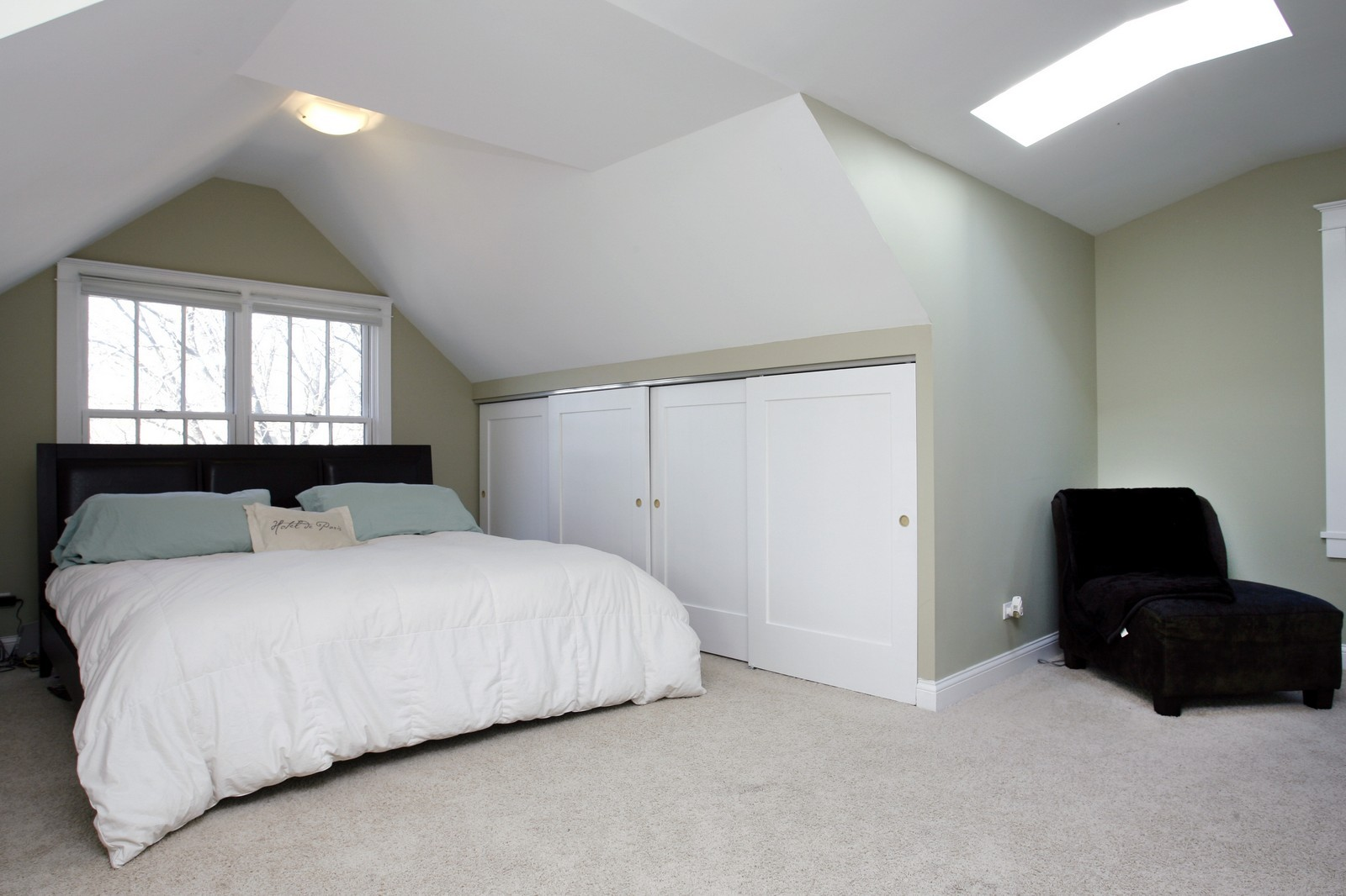 Real Estate Photography - 1457 W Pensacola, Chicago, IL, 60613 - Master Bedroom