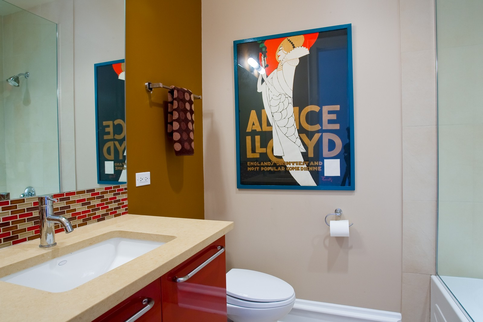 Real Estate Photography - 319 W Erie, Ph, Chicago, IL, 60654 - Bathroom