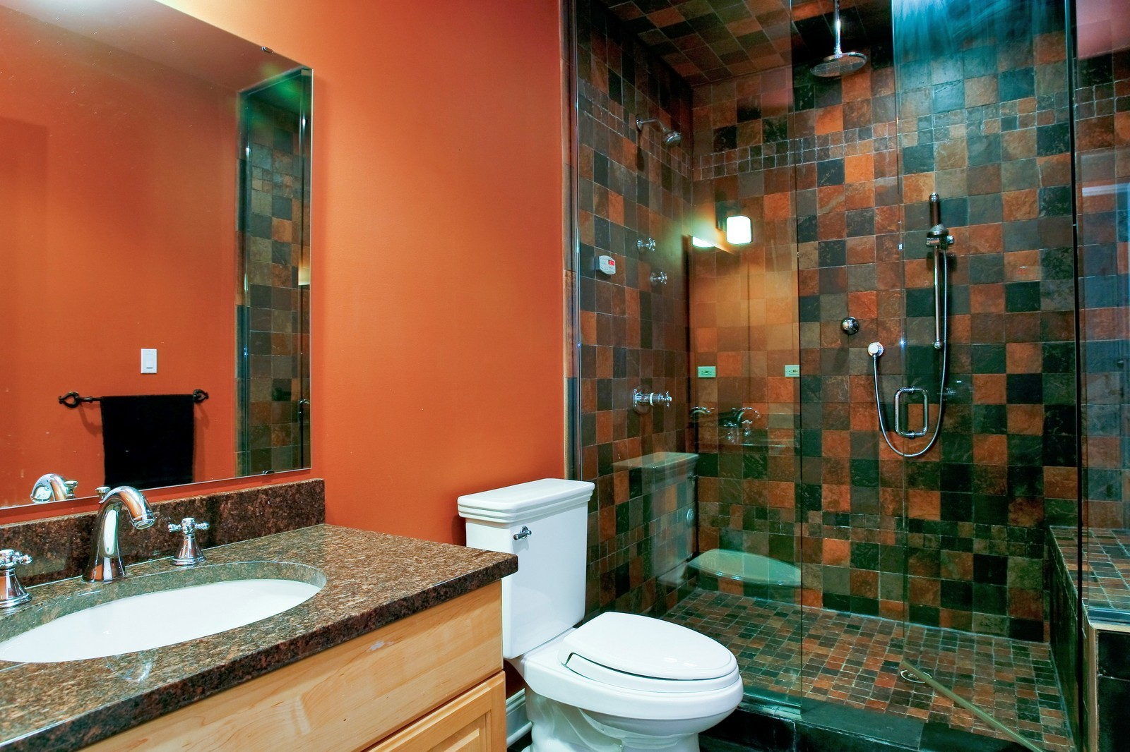 Real Estate Photography - 3701 N Richmond, Chicago, IL, 60618 - Bathroom