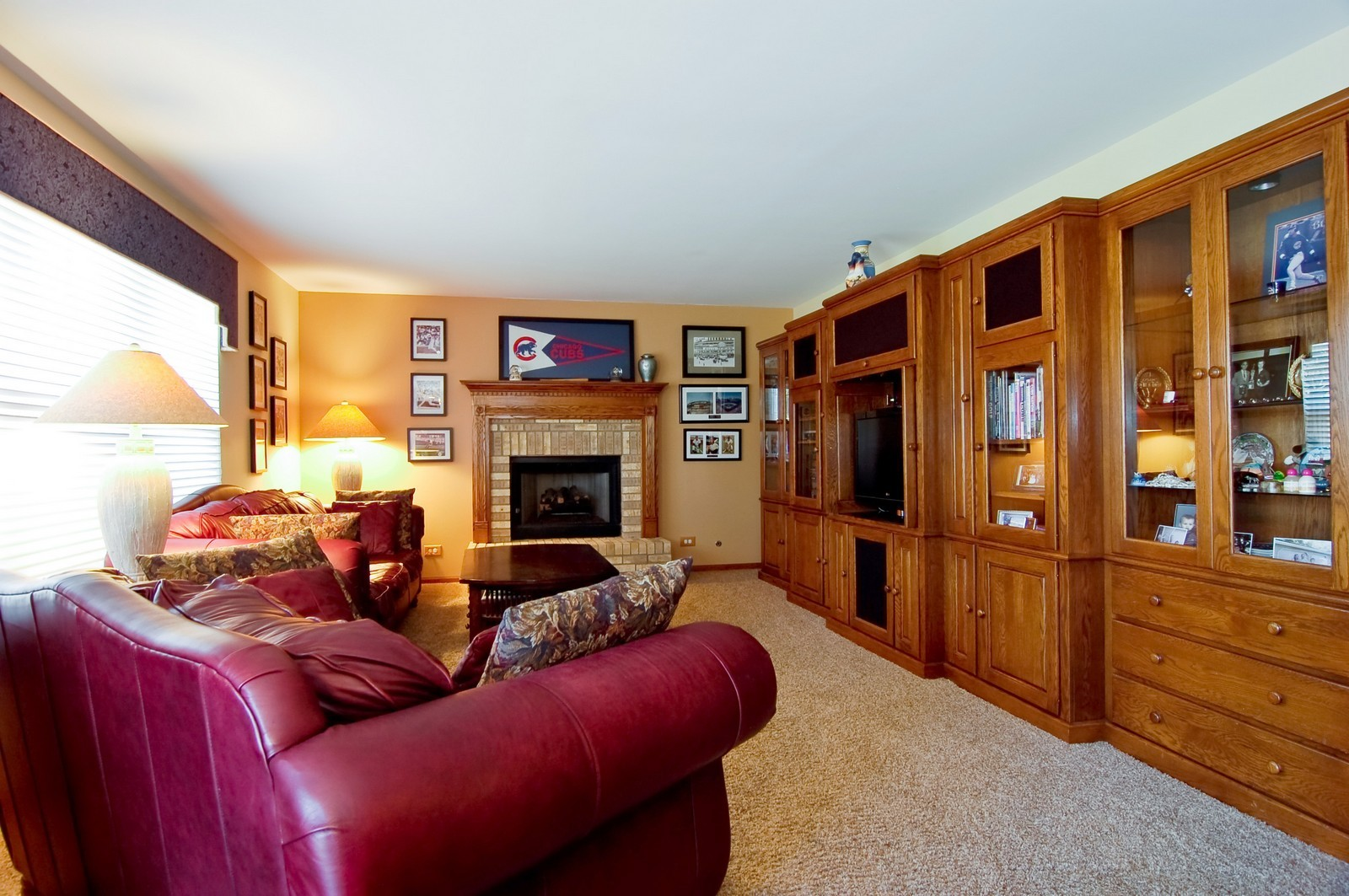 Real Estate Photography - 115 Buckskin Lane, Streamwood, IL, 60107 - Family Room