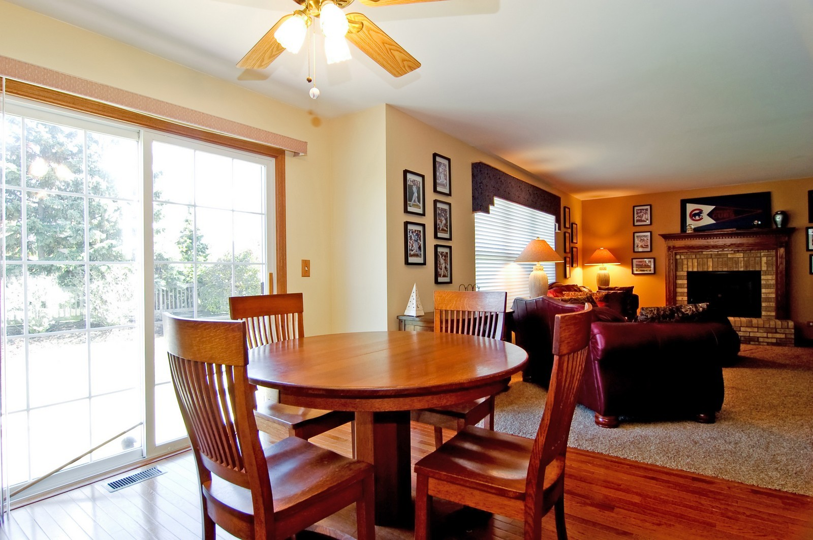 Real Estate Photography - 115 Buckskin Lane, Streamwood, IL, 60107 - Breakfast Nook