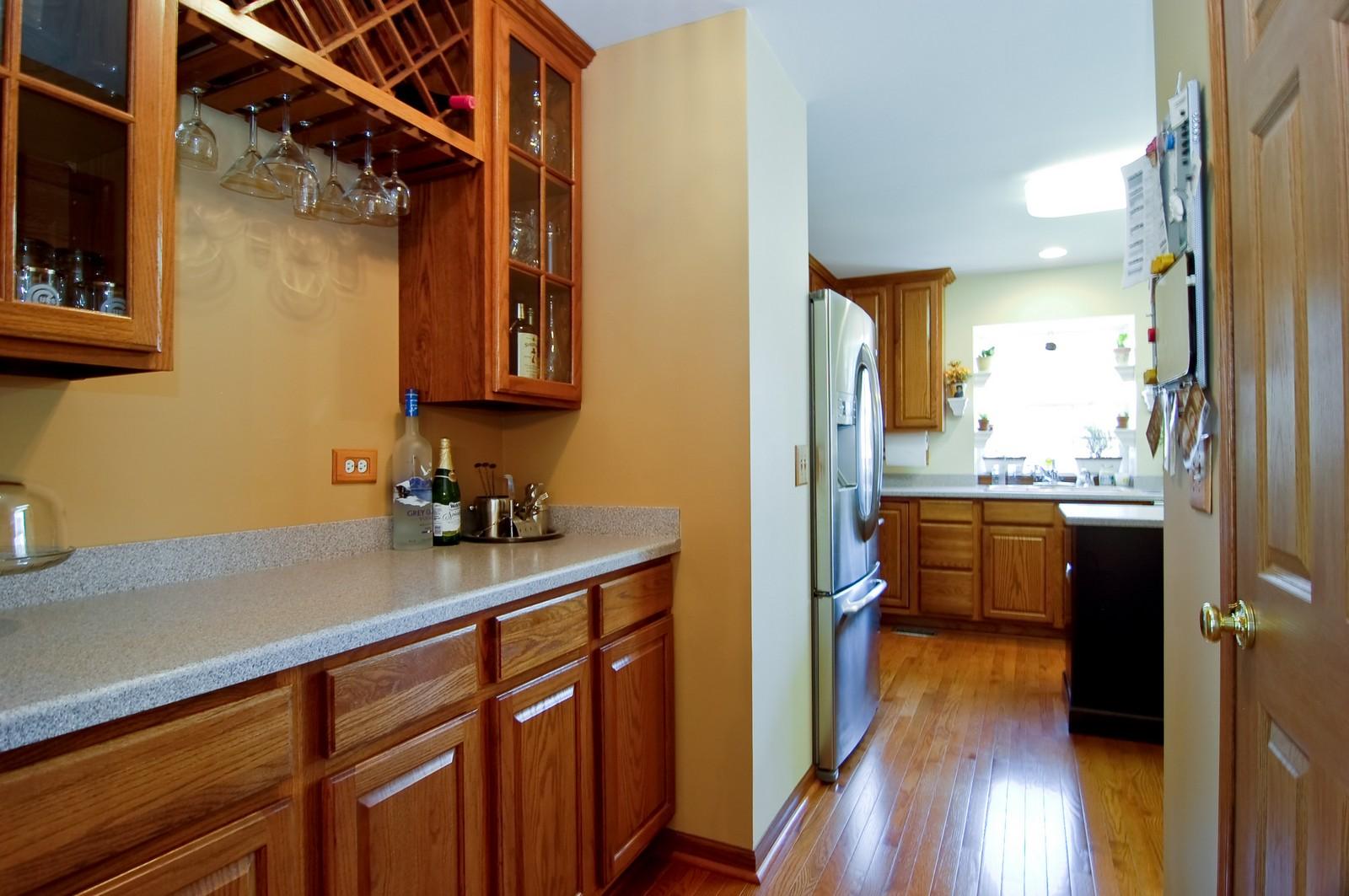 Real Estate Photography - 115 Buckskin Lane, Streamwood, IL, 60107 - Pantry