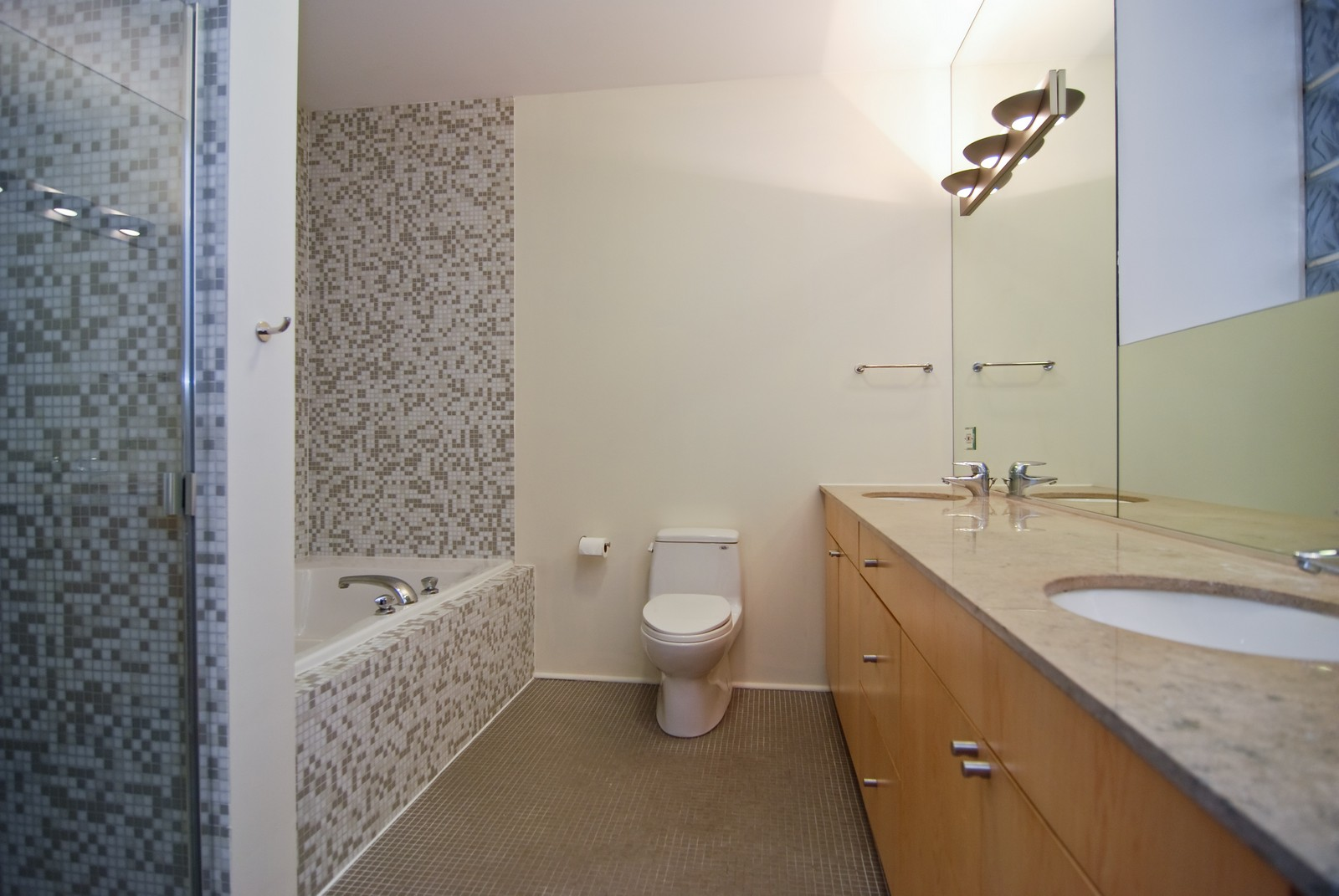 Real Estate Photography - 1526 S. Wabash, 300, Chicago, IL, 60605 - Master Bathroom