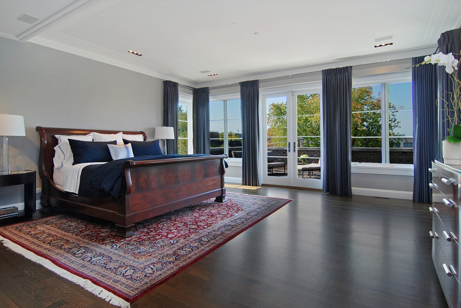 Real Estate Photography - 1866 N Howe, Chicago, IL, 60614 - Master Bedroom