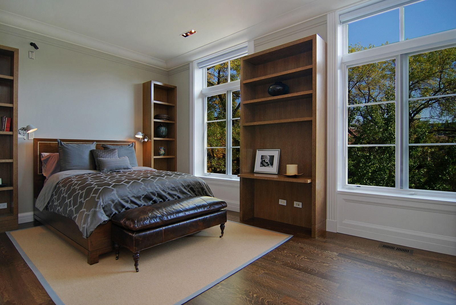 Real Estate Photography - 1866 N Howe, Chicago, IL, 60614 - Third (of Six) Bedroom
