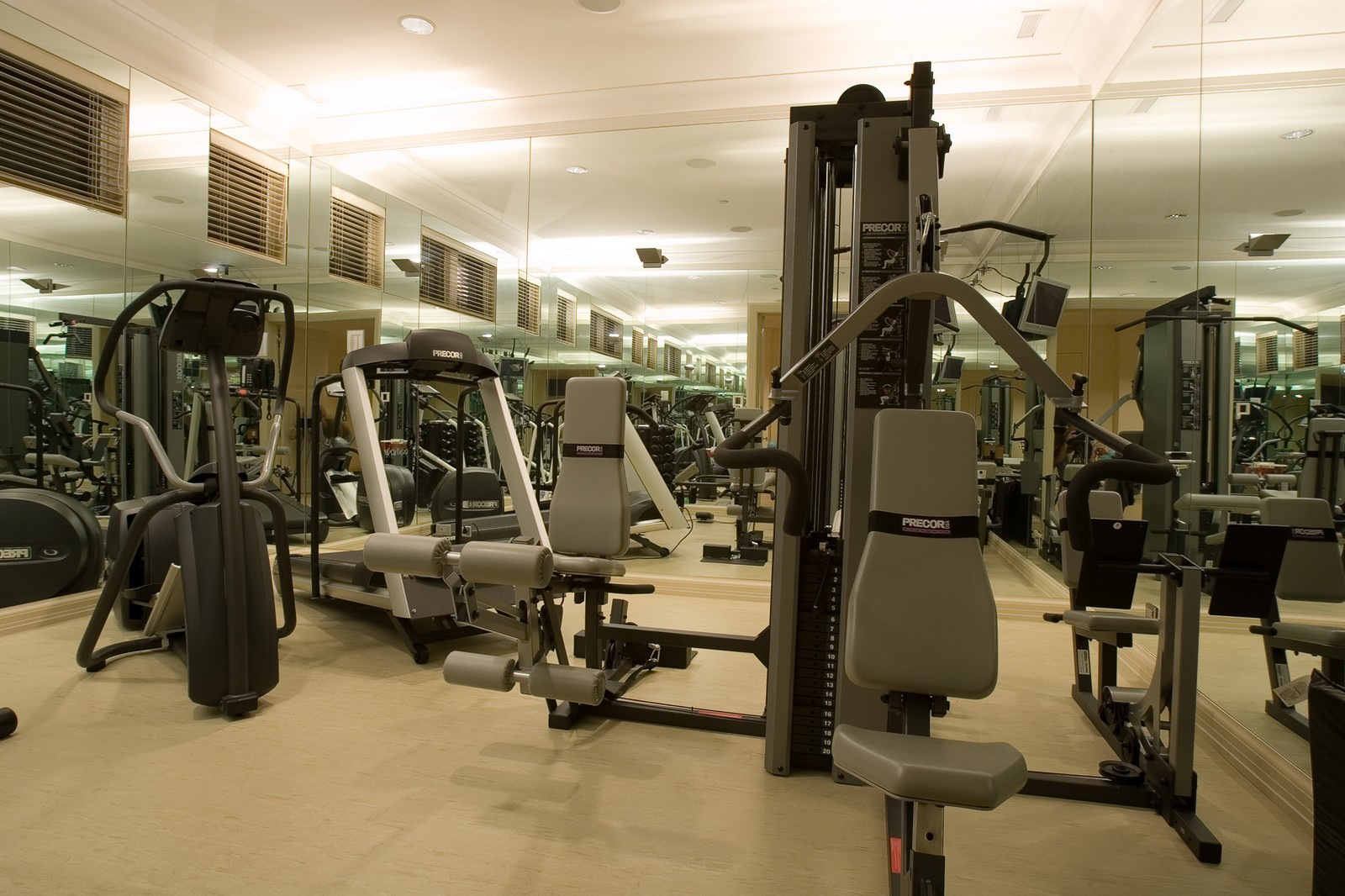 Real Estate Photography - 1866 N Howe, Chicago, IL, 60614 - Gym