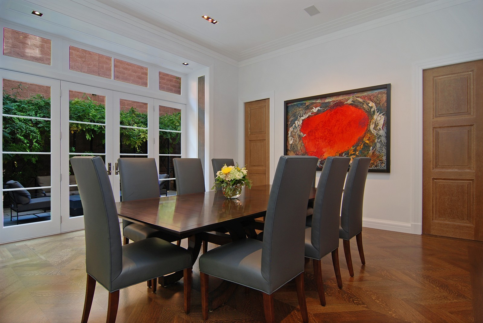Real Estate Photography - 1866 N Howe, Chicago, IL, 60614 - Dining Room