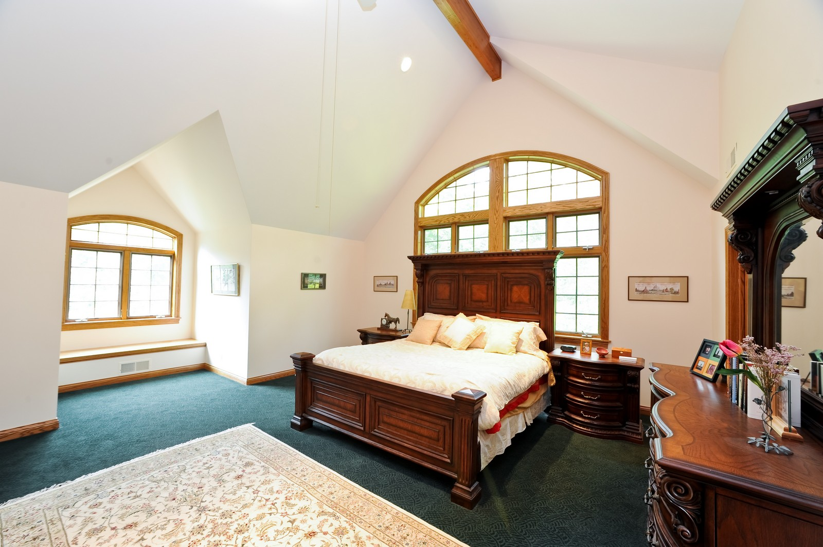 Real Estate Photography - 505 Juneberry, Riverwoods, IL, 60015 - Master Bedroom