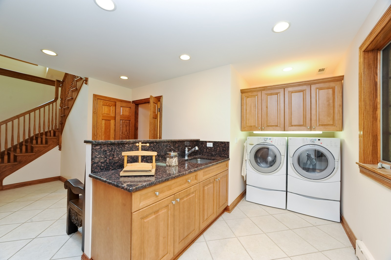 Real Estate Photography - 505 Juneberry, Riverwoods, IL, 60015 - Laundry Room