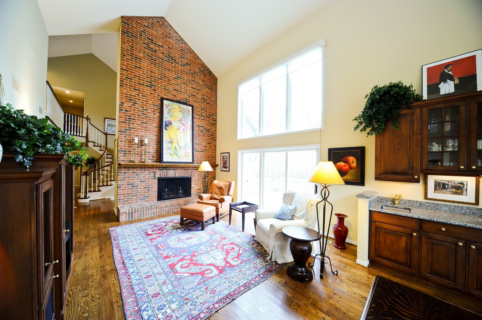 Real Estate Photography - 55 Greenwich Court, Lake Bluff, IL, 60044 - Family Room