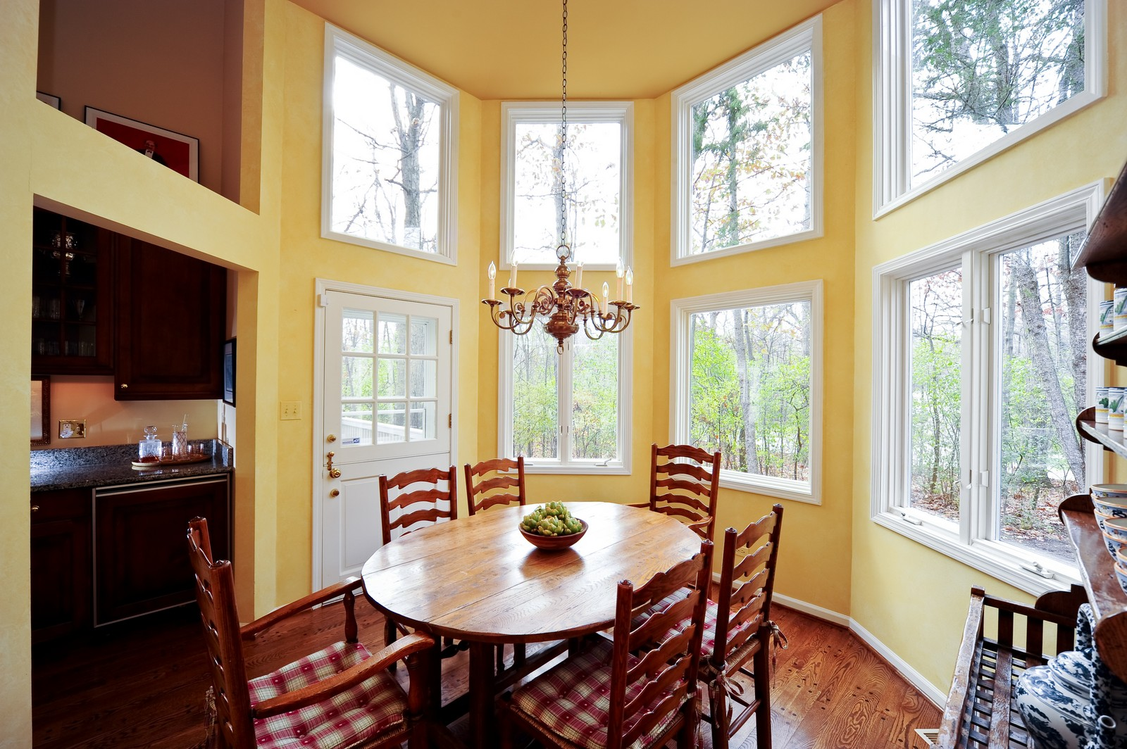 Real Estate Photography - 55 Greenwich Court, Lake Bluff, IL, 60044 - Breakfast Room