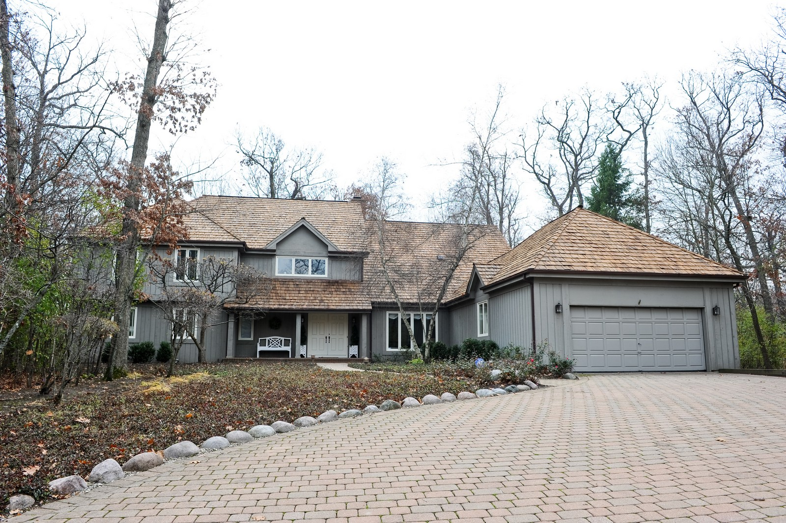 Real Estate Photography - 55 Greenwich Court, Lake Bluff, IL, 60044 - Front View