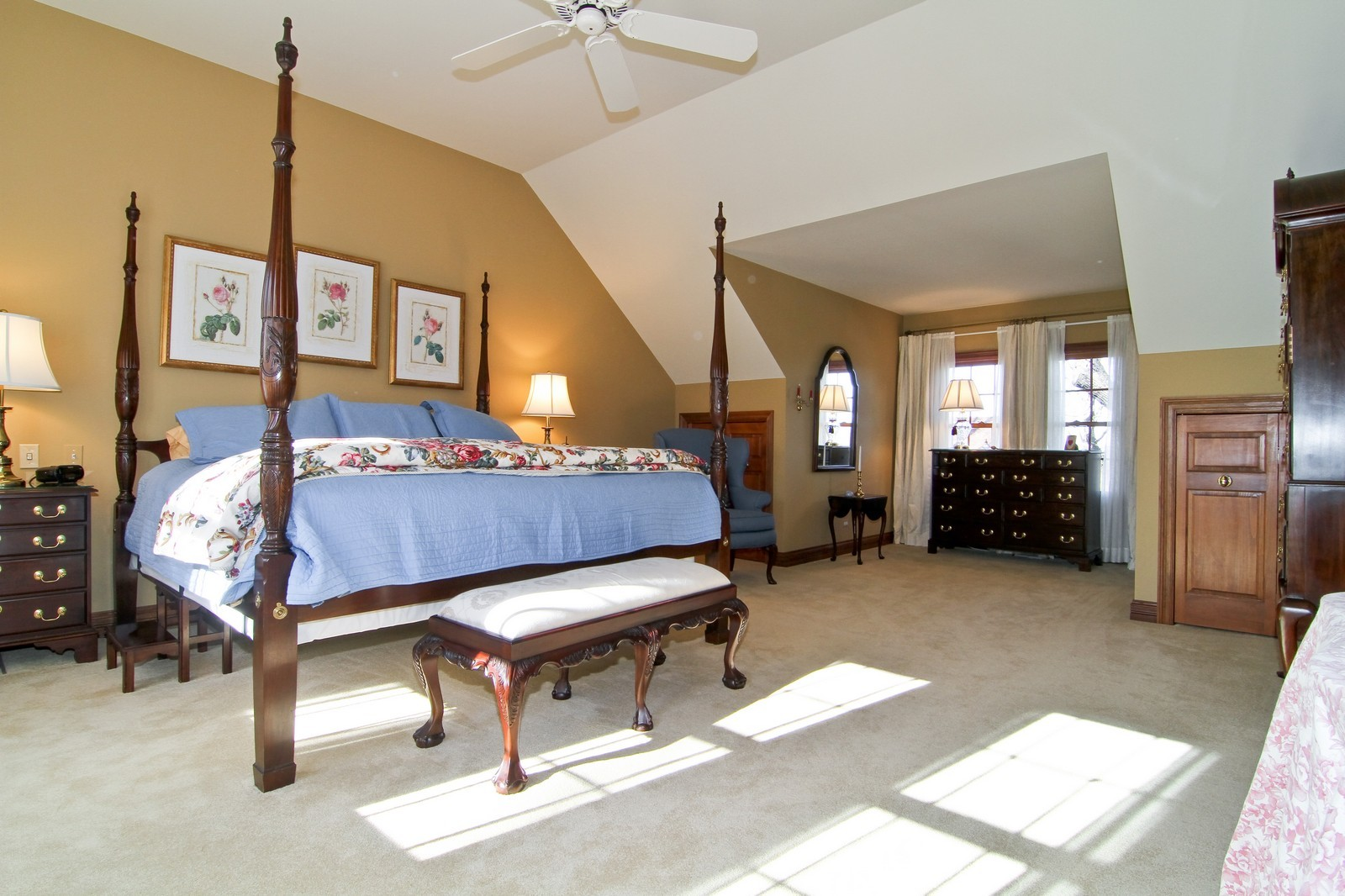 Real Estate Photography - 27W763 Brookside Drive, Winfield, IL, 60190 - Master Bedroom