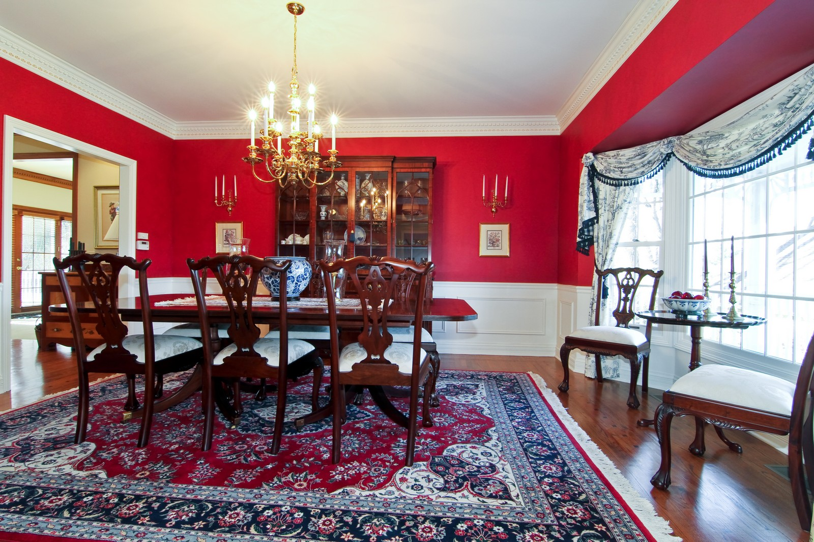 Real Estate Photography - 27W763 Brookside Drive, Winfield, IL, 60190 - Dining Room