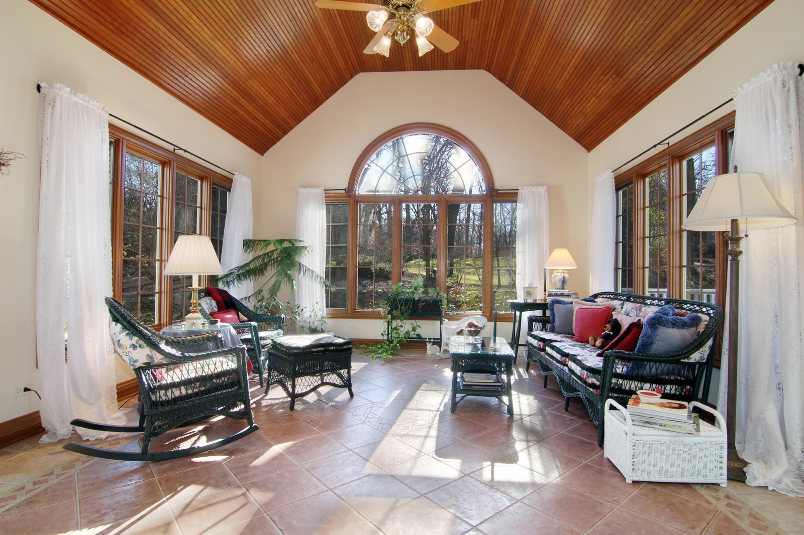 Real Estate Photography - 27W763 Brookside Drive, Winfield, IL, 60190 - Sun Room
