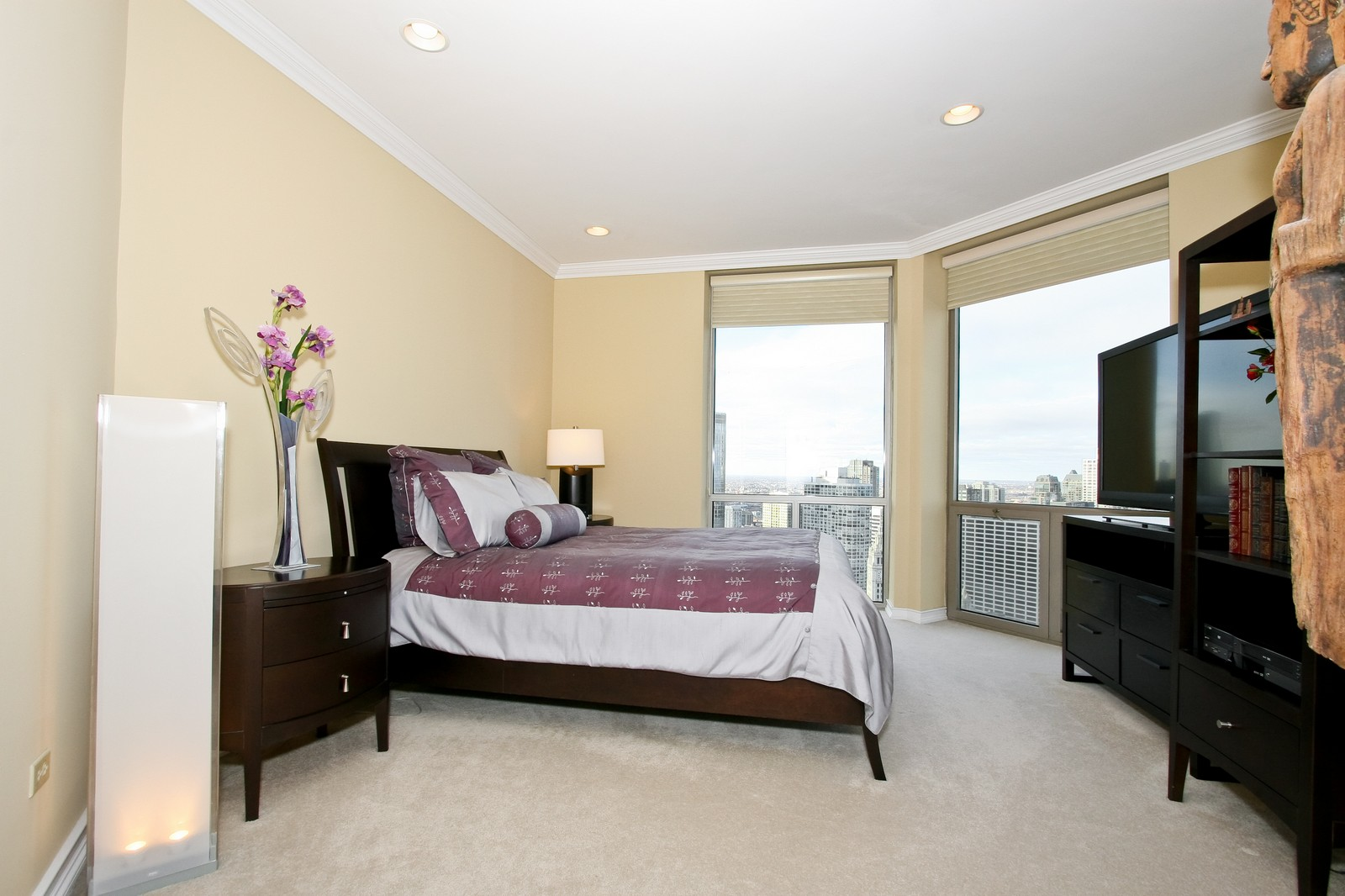 Real Estate Photography - 222 N Columbus, Chicago, IL, 60601 - Bedroom