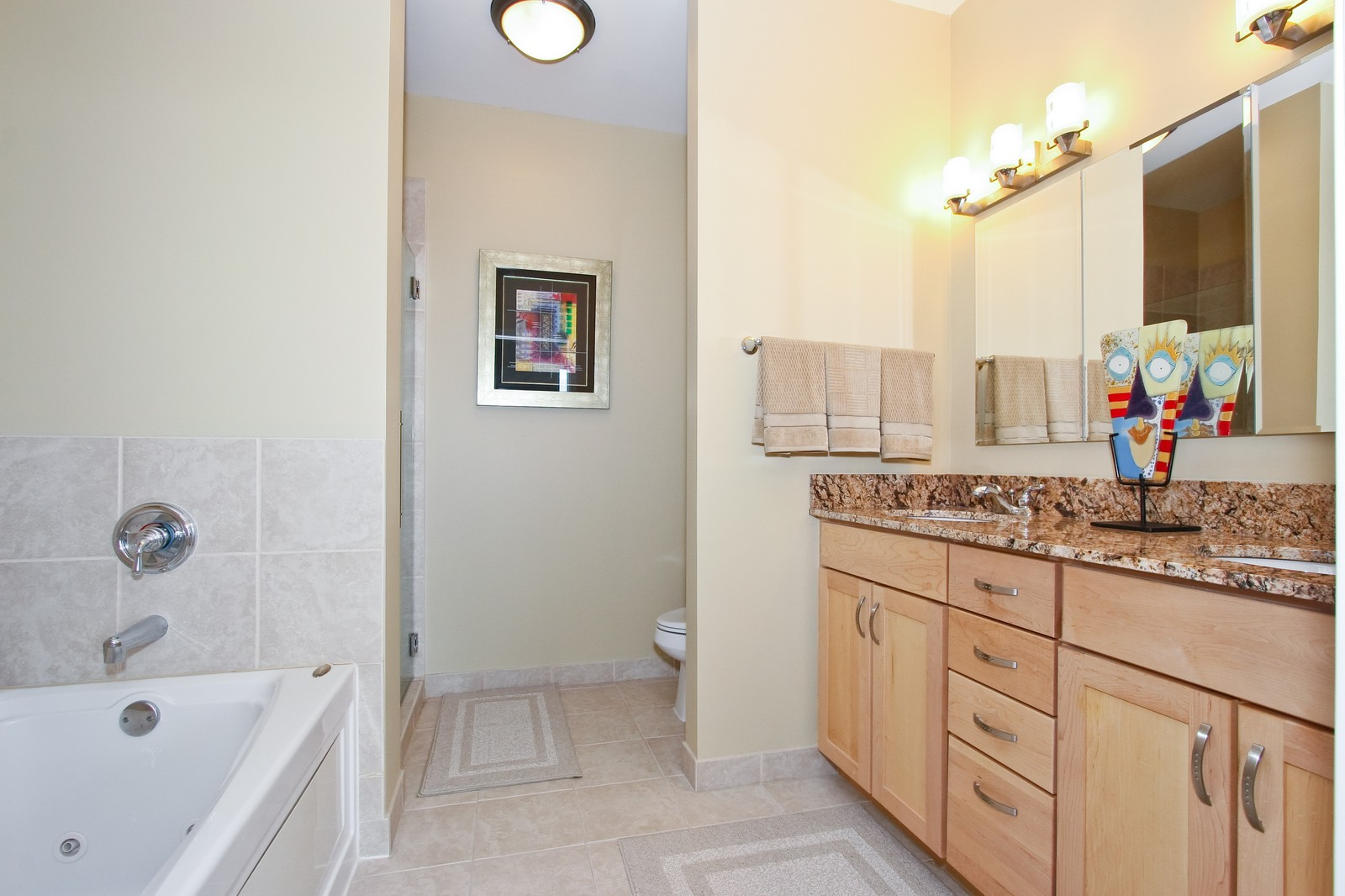 Real Estate Photography - 222 N Columbus, Chicago, IL, 60601 - Bathroom