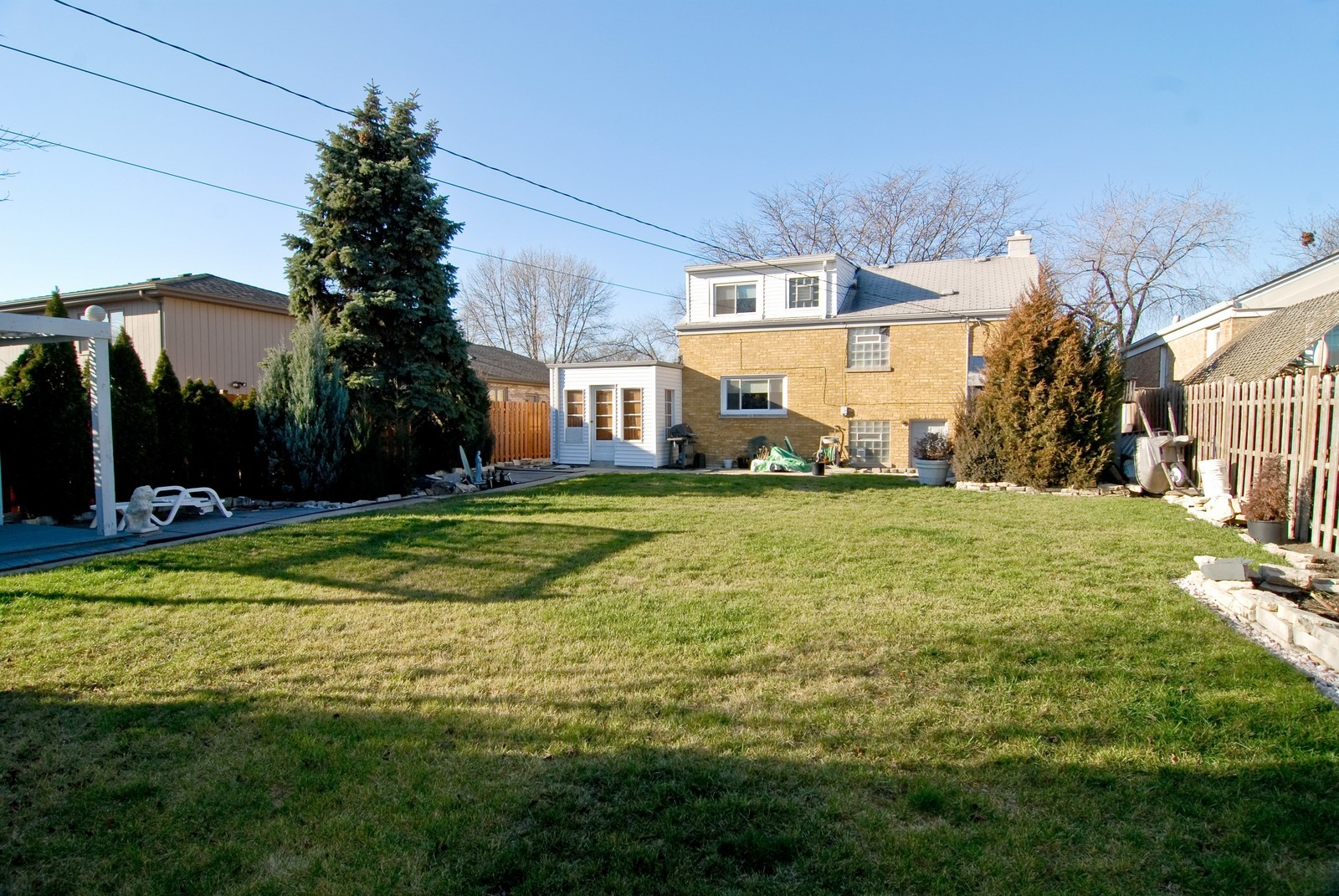 Real Estate Photography - 2447 West Street, River Grove, IL, 60171 - Rear View