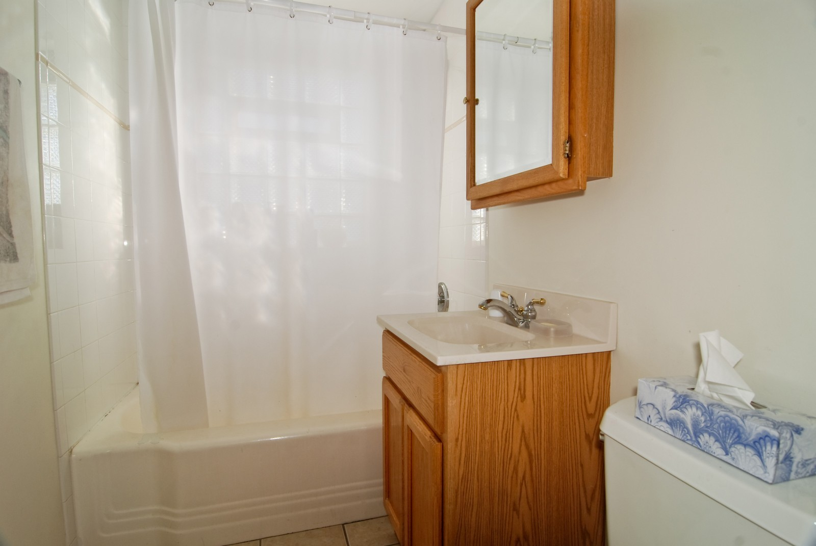 Real Estate Photography - 2447 West Street, River Grove, IL, 60171 - Bathroom