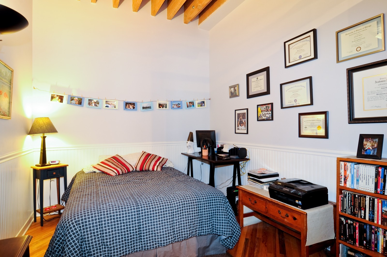 Real Estate Photography - 226 N Clinton, Apt 427, Chicago, IL, 60661 - Bedroom