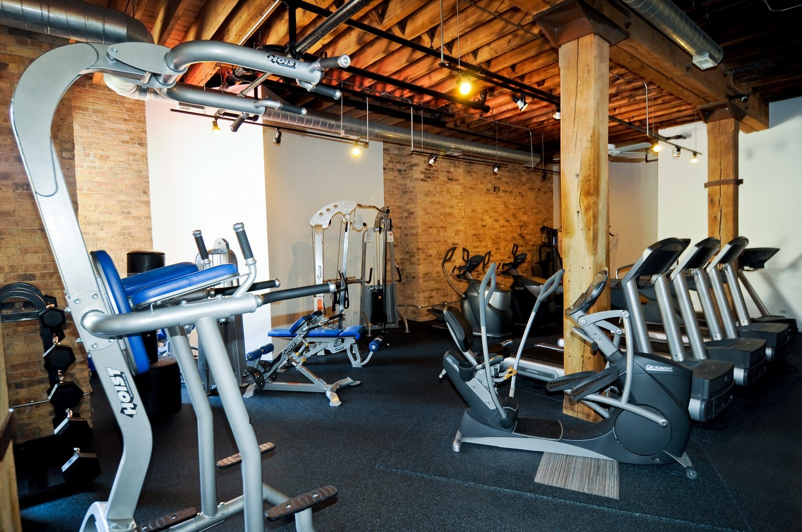 Real Estate Photography - 226 N Clinton, Apt 427, Chicago, IL, 60661 - Exercise Room