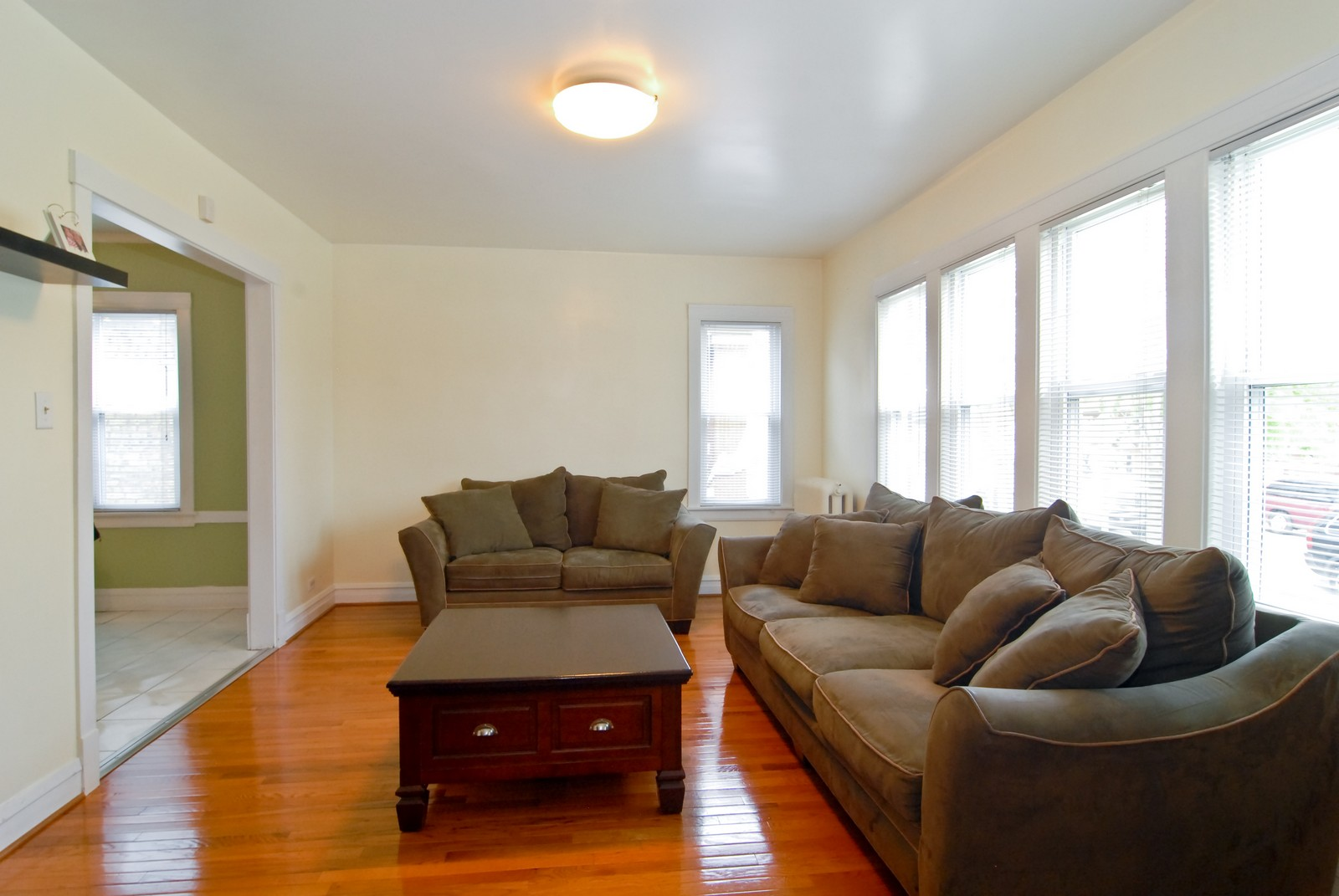 Real Estate Photography - 2842 N Keating, Chicago, IL, 60641 - Living Room