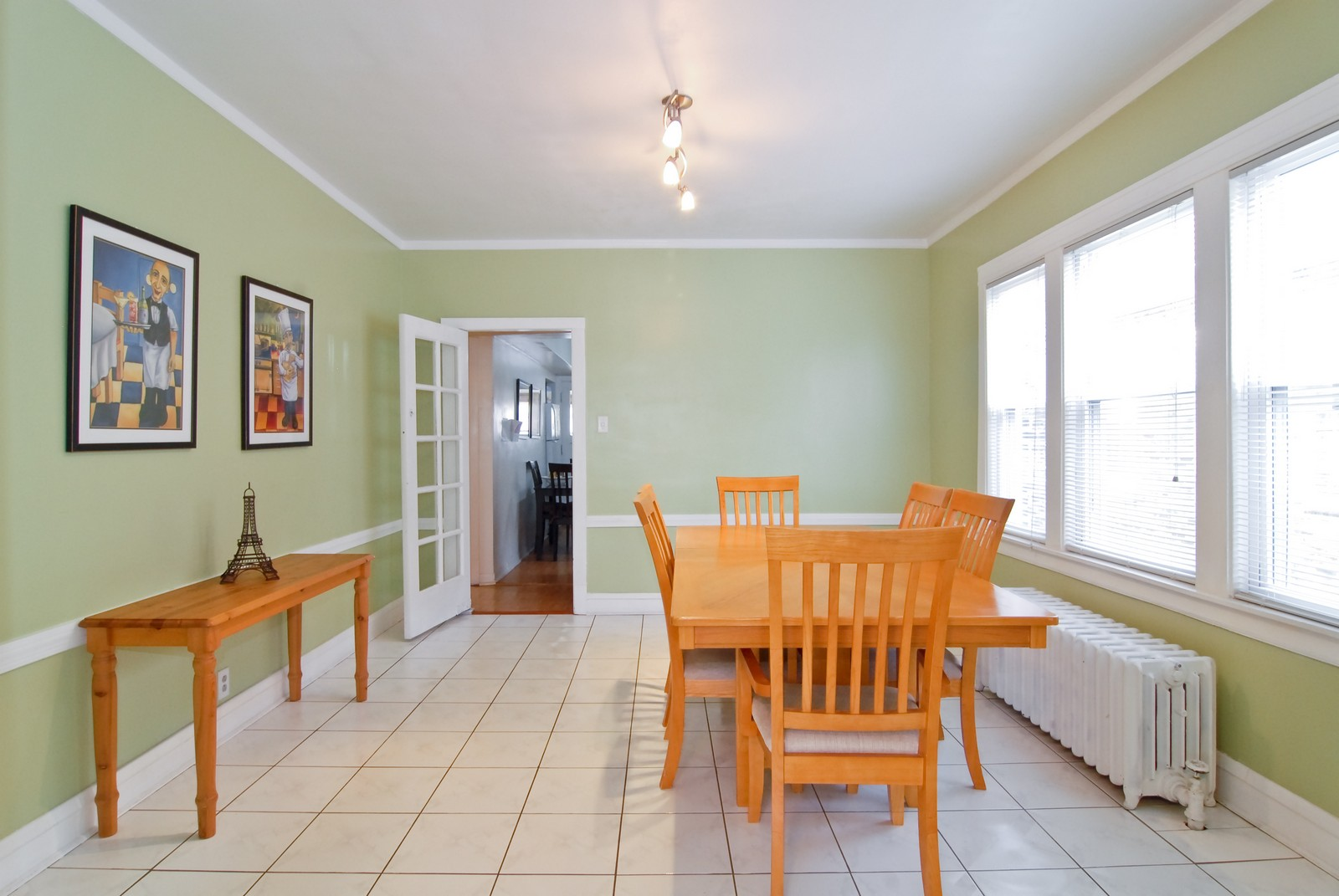 Real Estate Photography - 2842 N Keating, Chicago, IL, 60641 - Dining Room