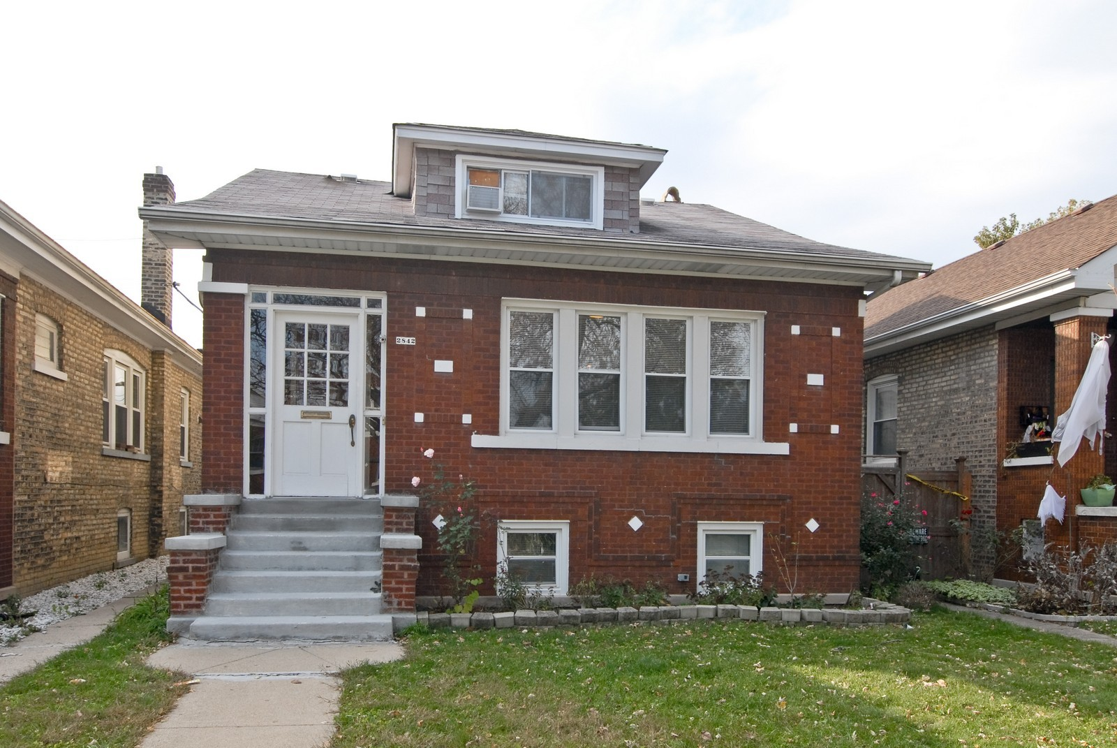 Real Estate Photography - 2842 N Keating, Chicago, IL, 60641 - Front View