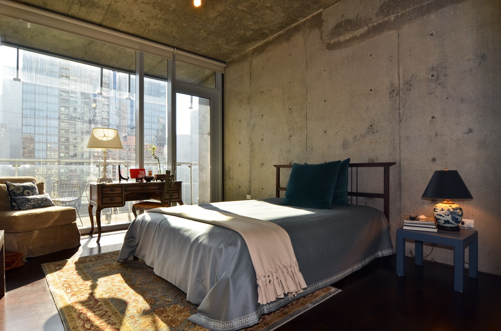 Real Estate Photography - 600 N Fairbanks, Unit 1801, Chicago, IL, 60611 - 2nd Bedroom