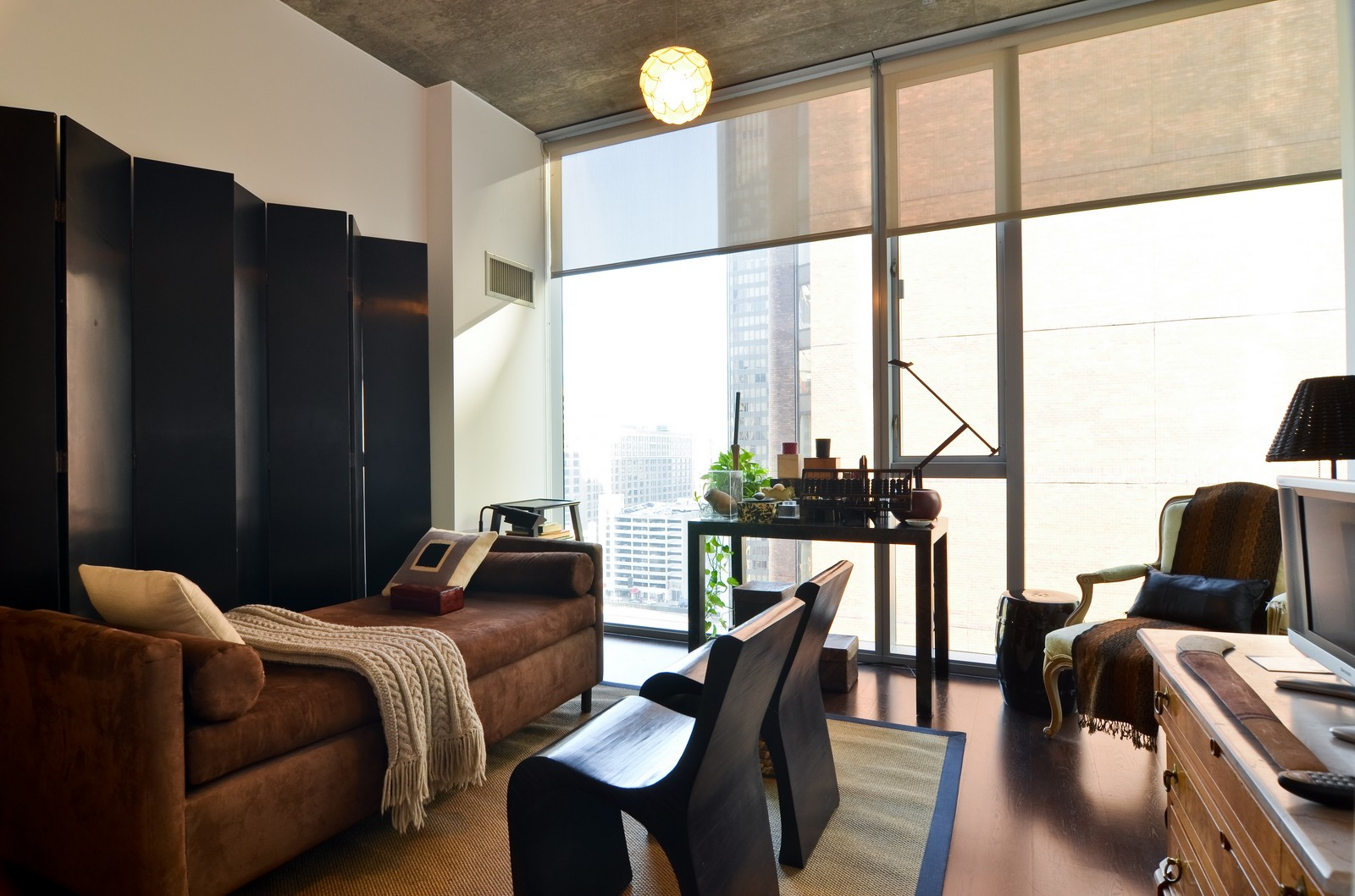 Real Estate Photography - 600 N Fairbanks, Unit 1801, Chicago, IL, 60611 - 3rd Bedroom