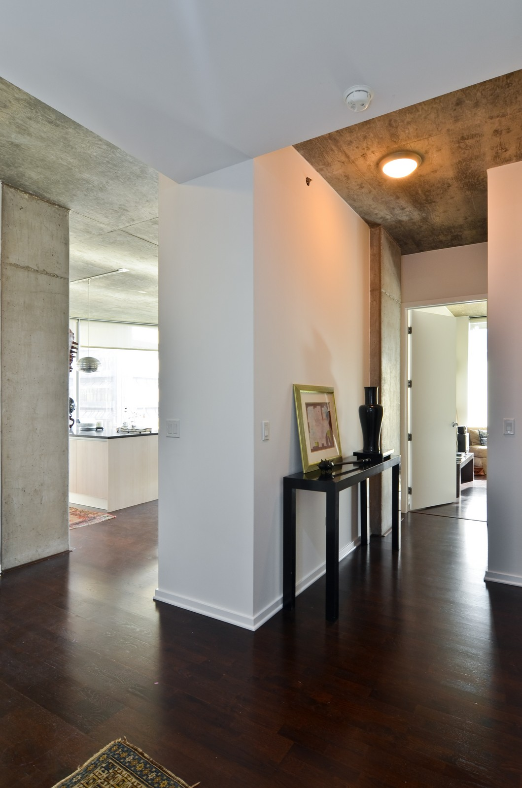 Real Estate Photography - 600 N Fairbanks, Unit 1801, Chicago, IL, 60611 - Foyer