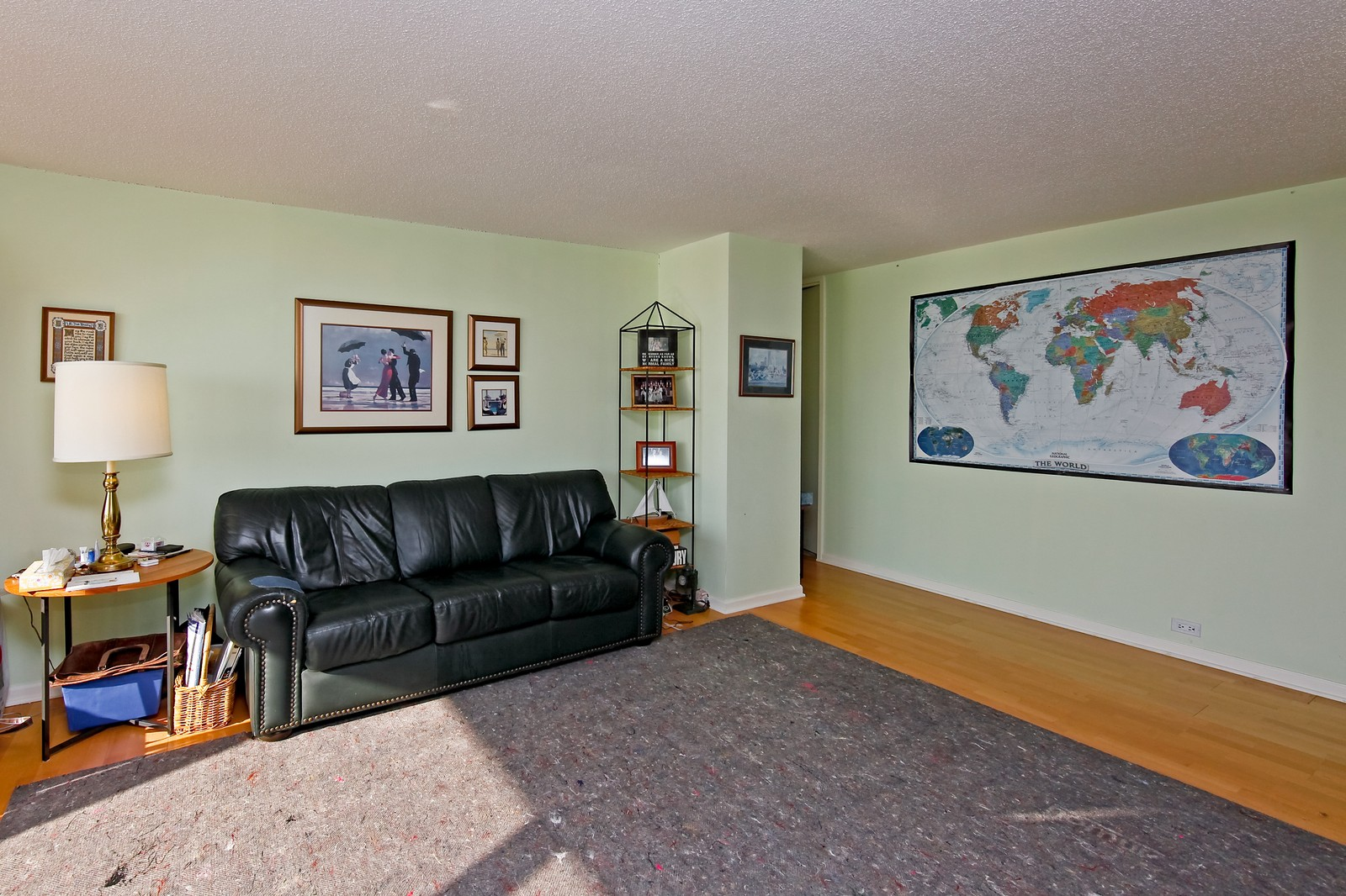 Real Estate Photography - 360 Randolph, Unit 3602, Chicago, IL, 60601 - Living Room