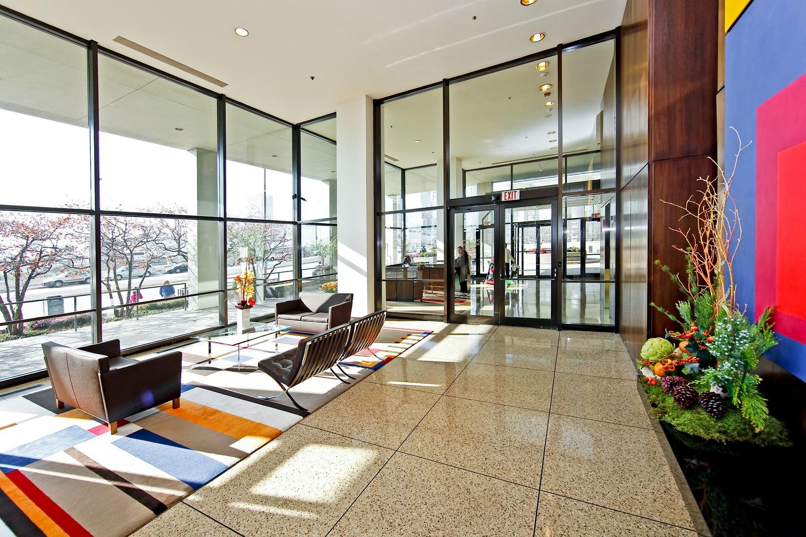 Real Estate Photography - 360 Randolph, Unit 3602, Chicago, IL, 60601 - Lobby