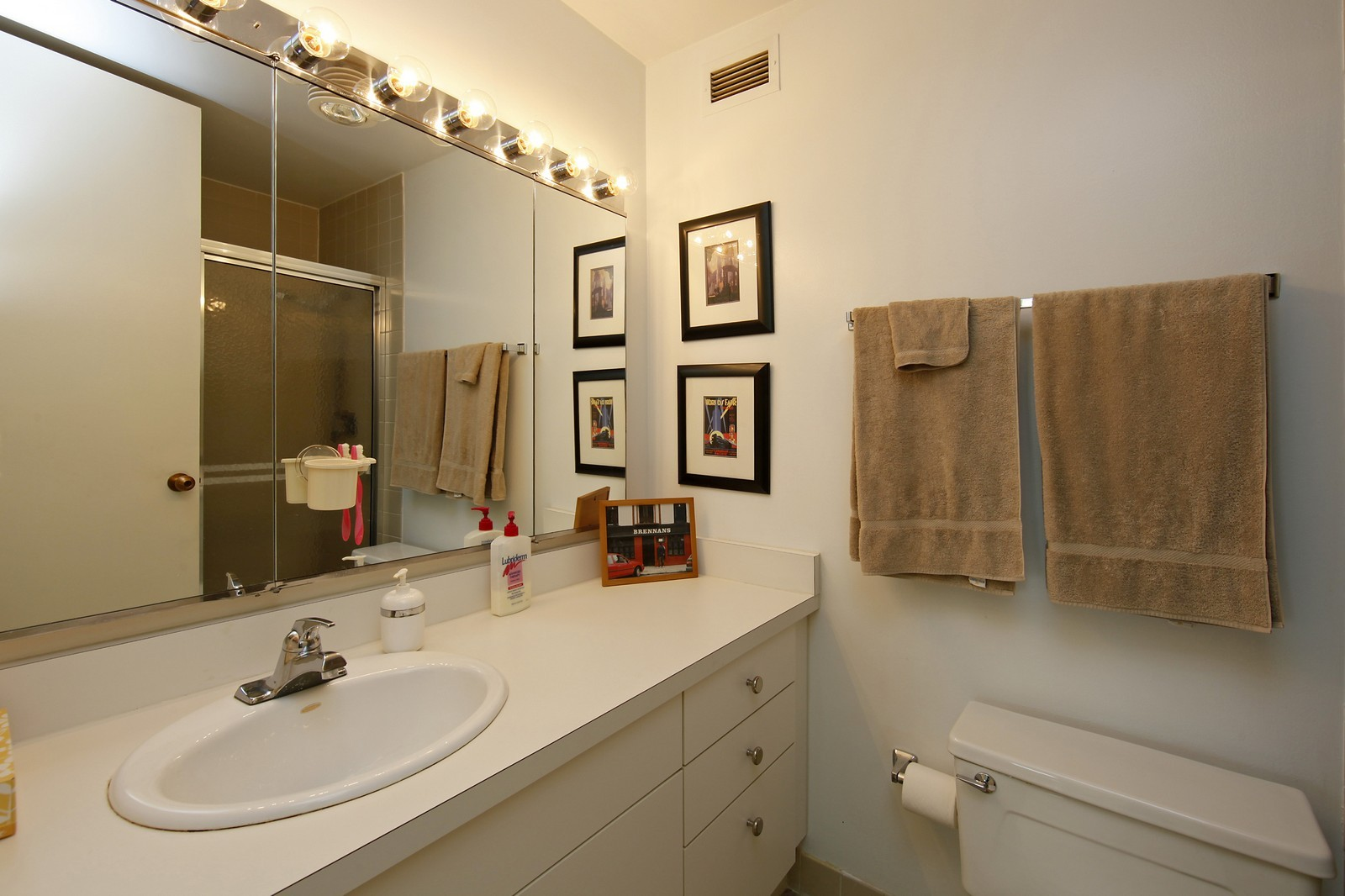 Real Estate Photography - 360 Randolph, Unit 3602, Chicago, IL, 60601 - Bathroom